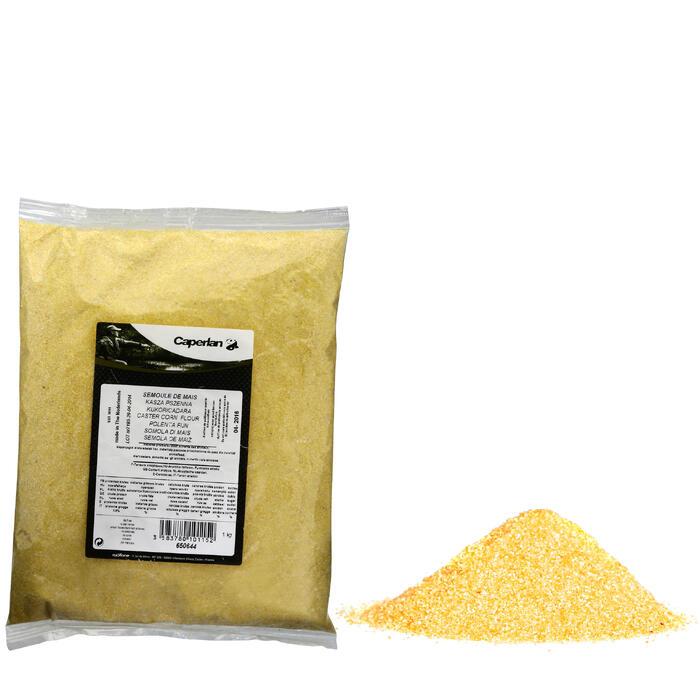 Griesmeel van maïs voor statisch vissen 1 kg
