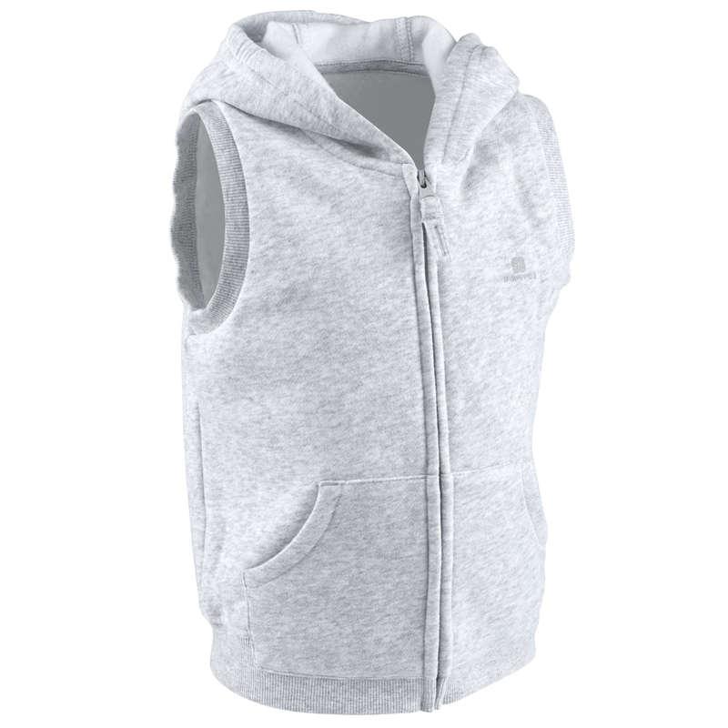 BABY GYM APPAREL - 100 Gym Jacket - Grey DOMYOS