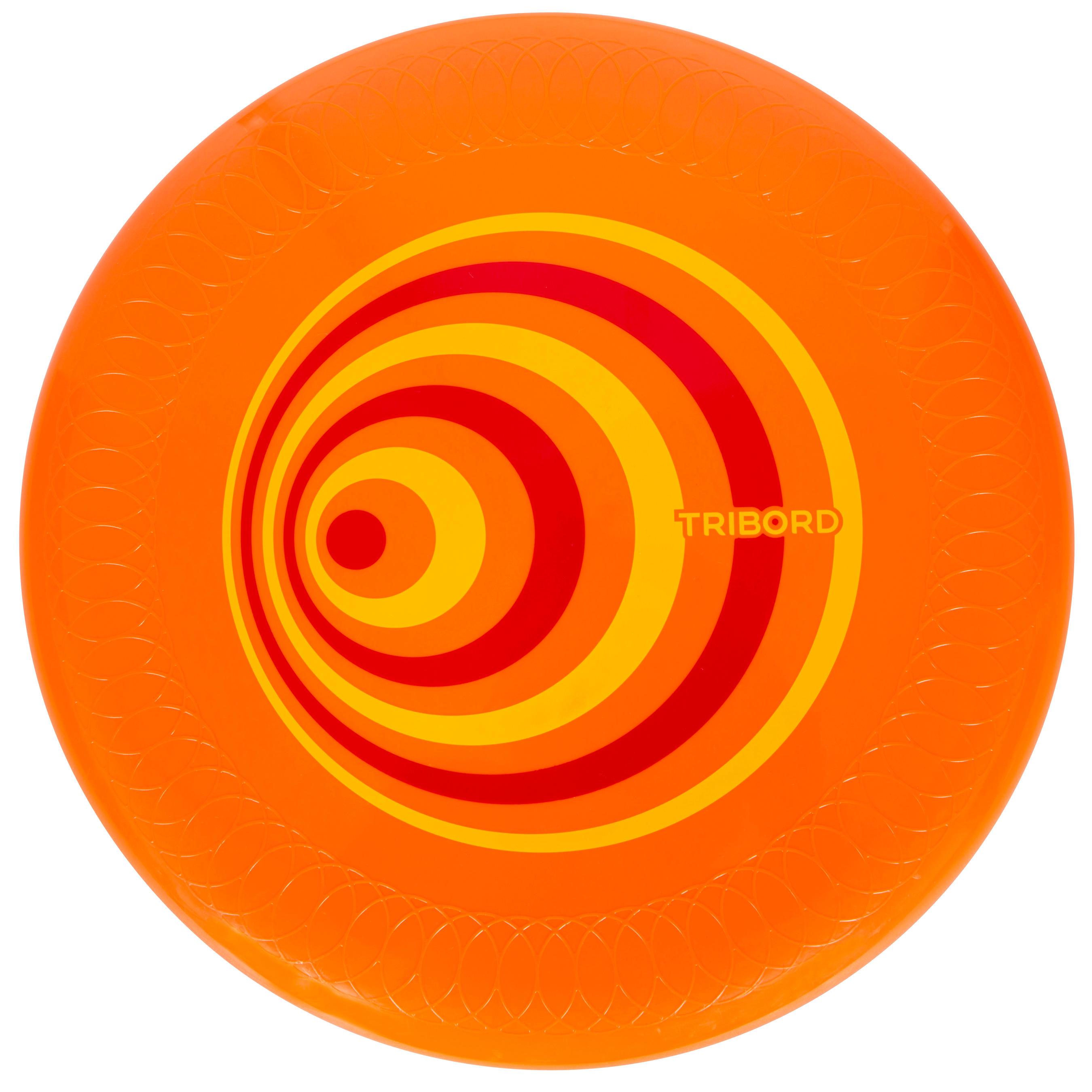 Frisbee D125 dynamique orange