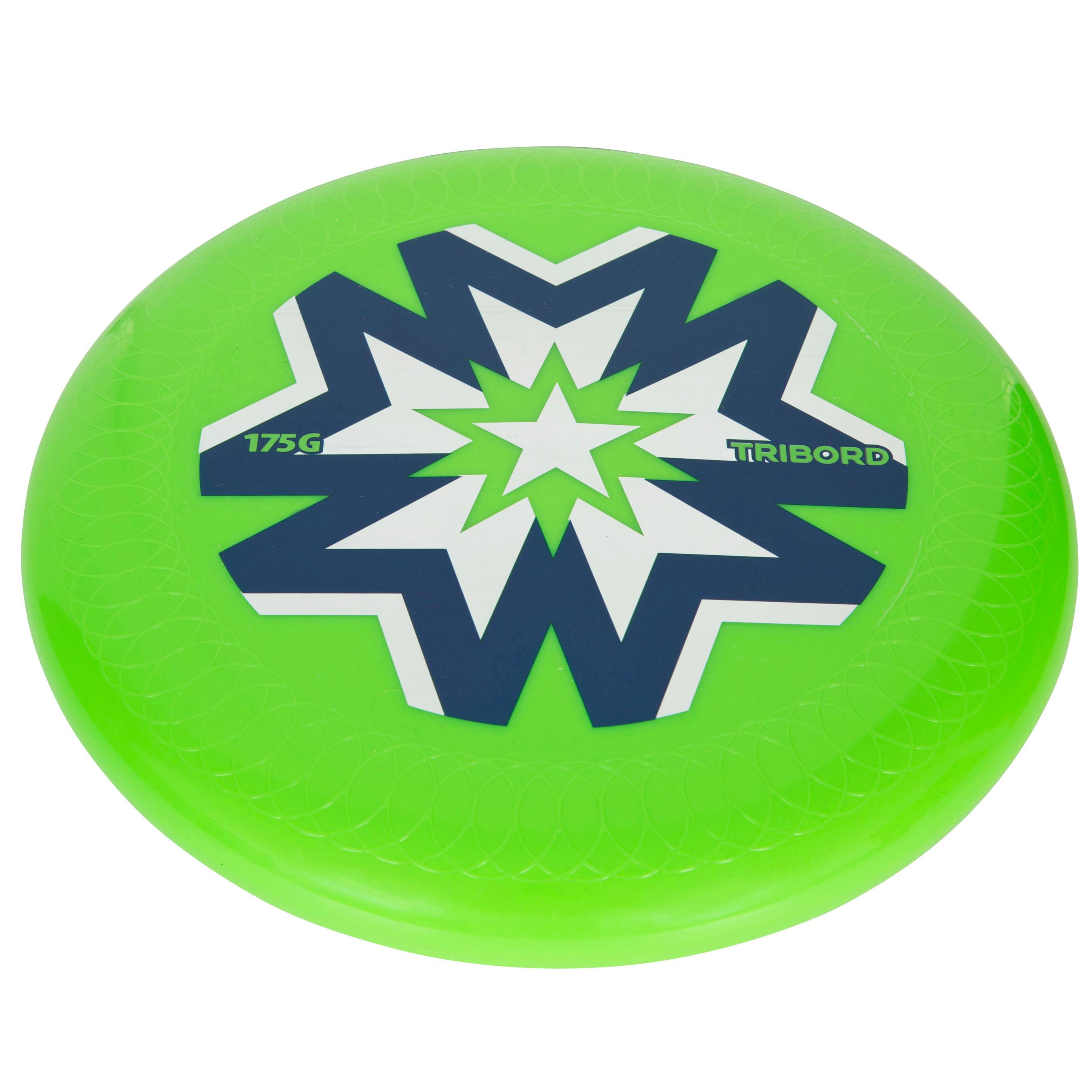Frisbee D175 d'équipe vert