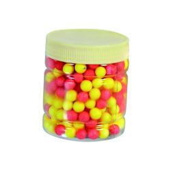 Kunstaas voor forelvissen piepschuimballetjes geel/oranje