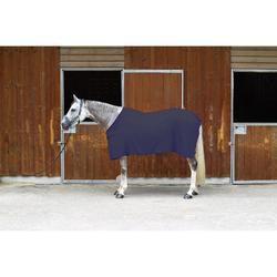 Manta ligera secante de equitación para poni y caballo gris