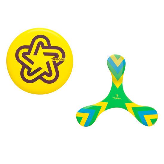 Frisbee/boemerang Soft groen - 590696