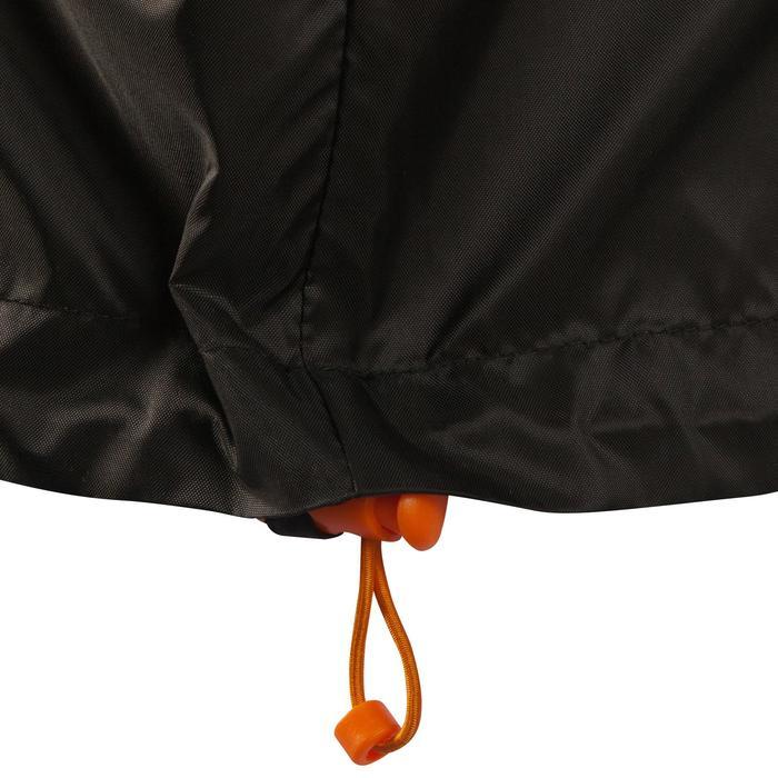 Regenjas voor hiking voor heren NH100 Raincut zwart