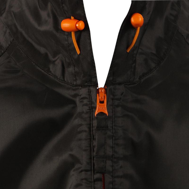 Men's Raincoat NH100 - Black
