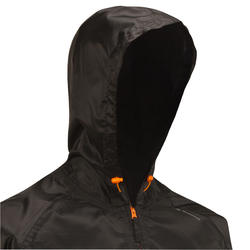 Men's Waterproof Country Walking Rain Jacket NH100 Raincut - Black