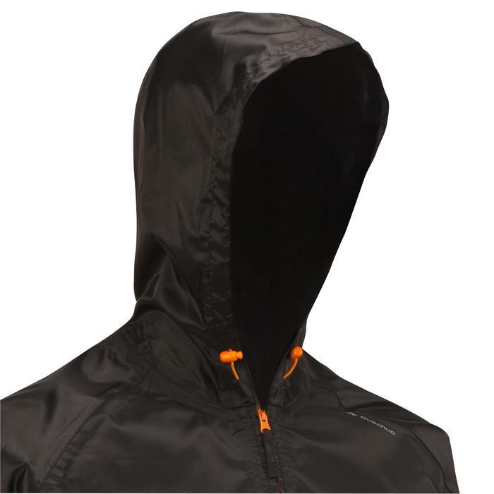 Wandelregenjas voor heren zwart