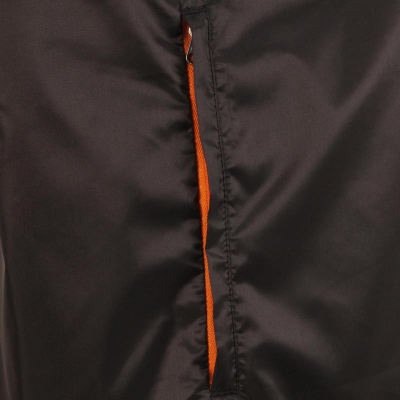 Men's Waterproof Country Walking Rain Jacket NH100 Raincut - Black