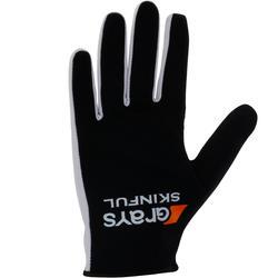 Hockeyhandschoen Skinfull voor volwassenen zwart - 59130