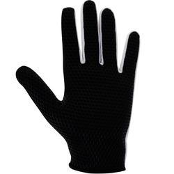 Hockeyhandschoen Skinfull voor volwassenen zwart