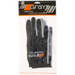 Hockeyhandschoen Skinfull voor volwassenen zwart - 59133
