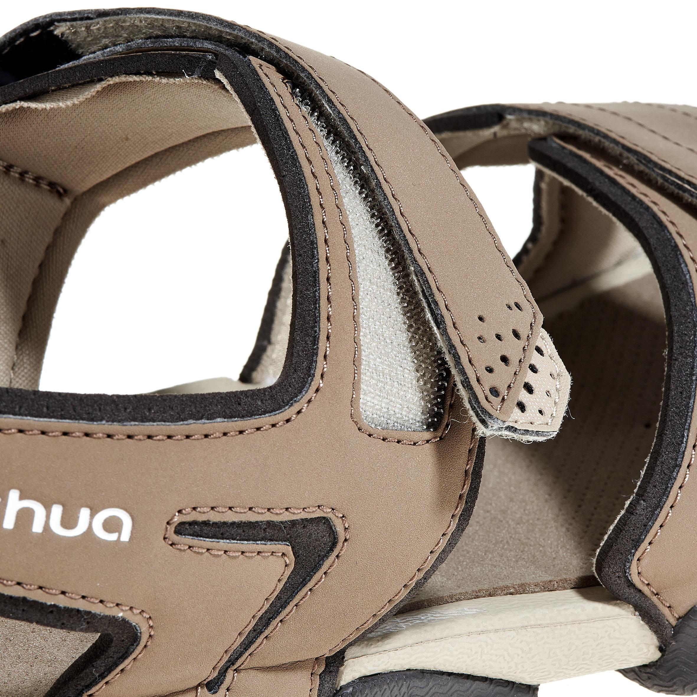 NH100 men's country walking sandals - beige
