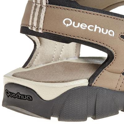 Sandalias Deportivas de Senderismo y Trekking, Quechua, NH100, Velcro, Hombre