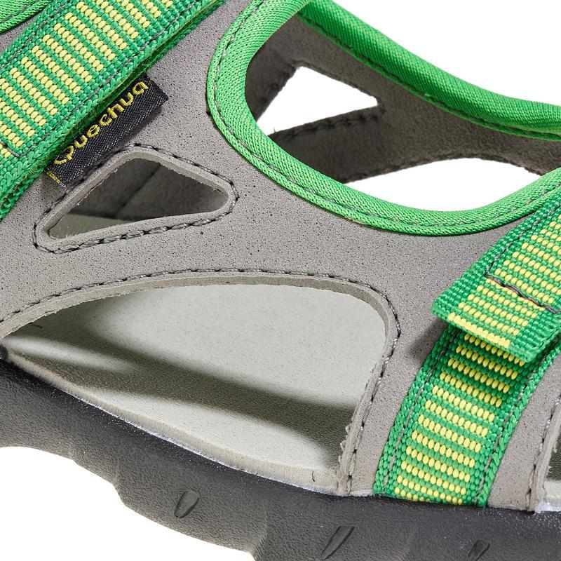 Arpenaz 50 Children's Hiking Sandals - Green