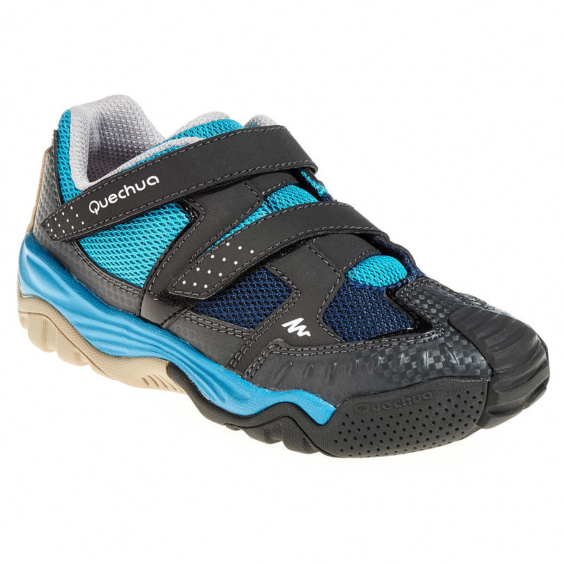 Crossrock Children's Hiking Shoes blue/pink