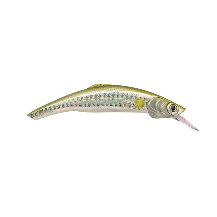 Poisson nageur Mitsou 110 17gr métal AYU pêche en mer