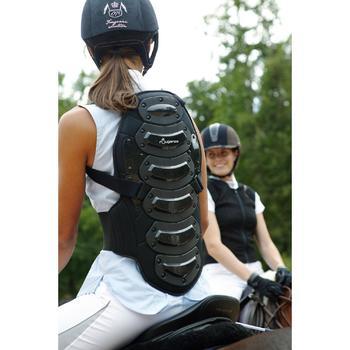 Protection dorsale équitation enfant et adulte SAFETY noir - 592687