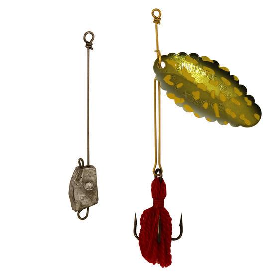 Lepels hengelsport >= 2 Suissex snoek + onderlijn nr.3 - 592722