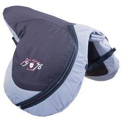 Bolsa para silla equitación azul marino
