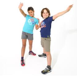 Trekkingshirt voor kinderen Hike 500 uil