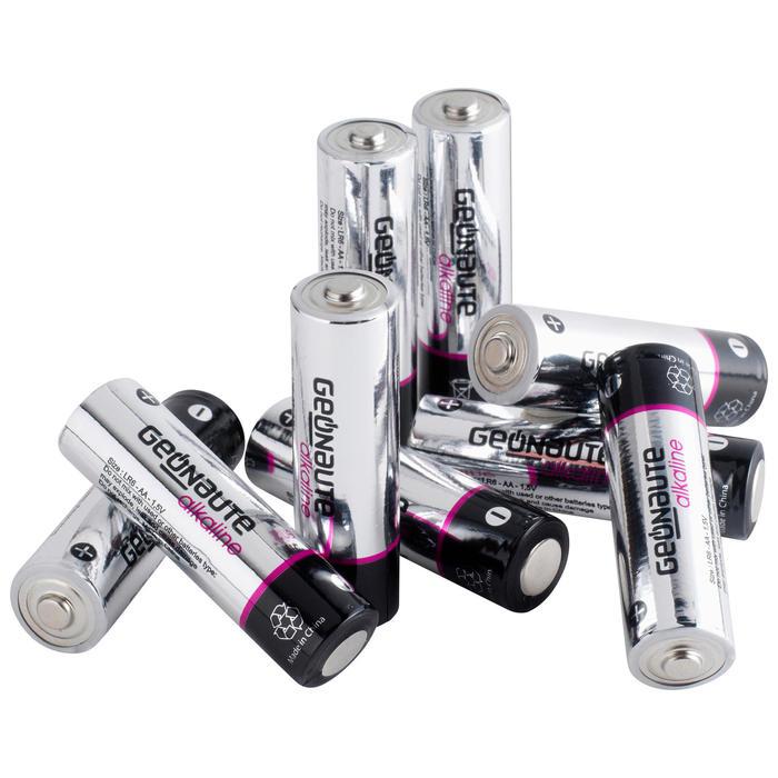 Set of 12 AA Alkaline Batteries
