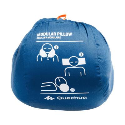 Almohada módulo para camping azul