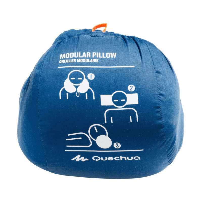 BASE CAMP SLEEPING BAGS Camping - MODULO PILLOW BLUE QUECHUA - Sleeping Equipment