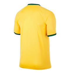 Voetbalshirt voor volwassenen replica Brazilië geel - 595397