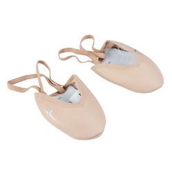 Demi-pointes ritmische gymnastiek meisjes roze