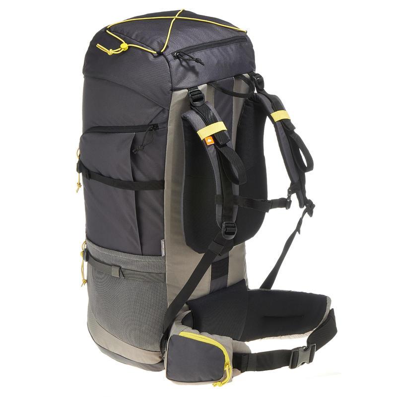 Travel Backpack Forclaz 70-Litre - Grey