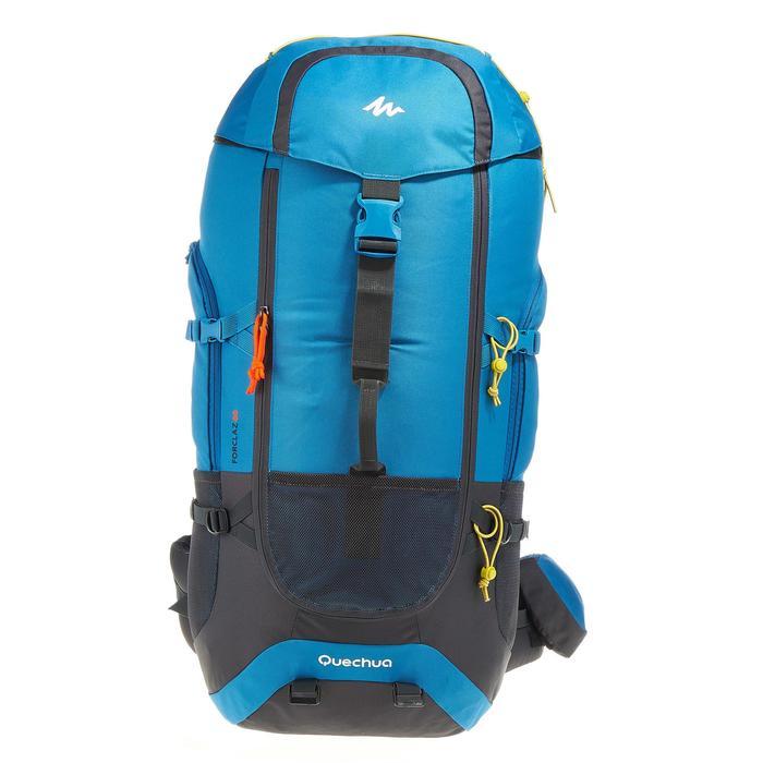 Mochila de Montaña y Trekking Forclaz 60 Litros Azul