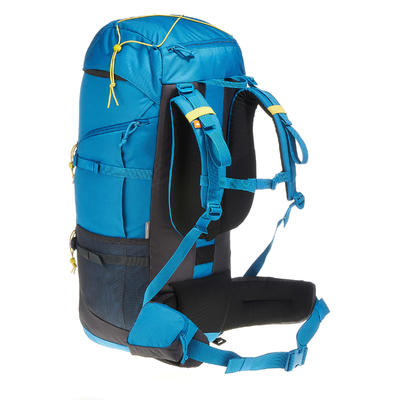 حقيبة الظهر للمشي لمسافات طويلة Forclaz 60 لتر – أزرق