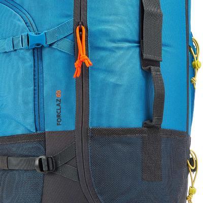 Sac à dos Trekking Forclaz 60 litres bleu