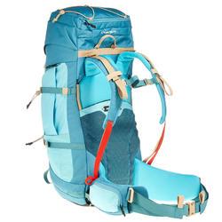 Sac à dos de trekking en montagne femme | EASYFIT 60L femme turquoise