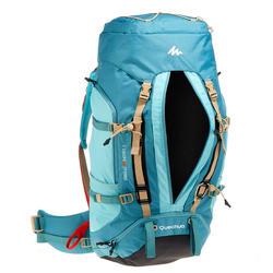 Rugzak voor bergtrekking dames Easyfit 60 l turquoise
