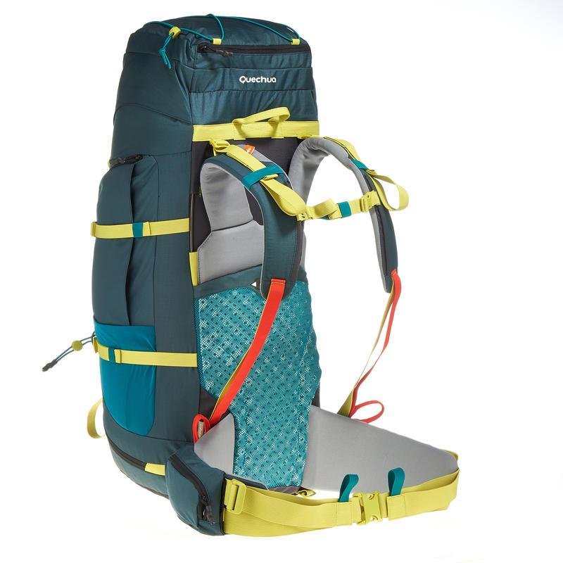 Trekking Backpack Easyfit 70 litre - Blue