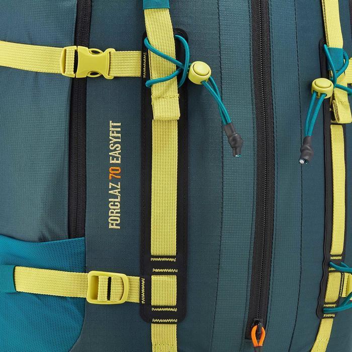 Trekkingrucksack EasyFit 70 Liter Herren blau