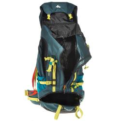 Bergsport rugzak voor heren Easyfit 70 l blauw