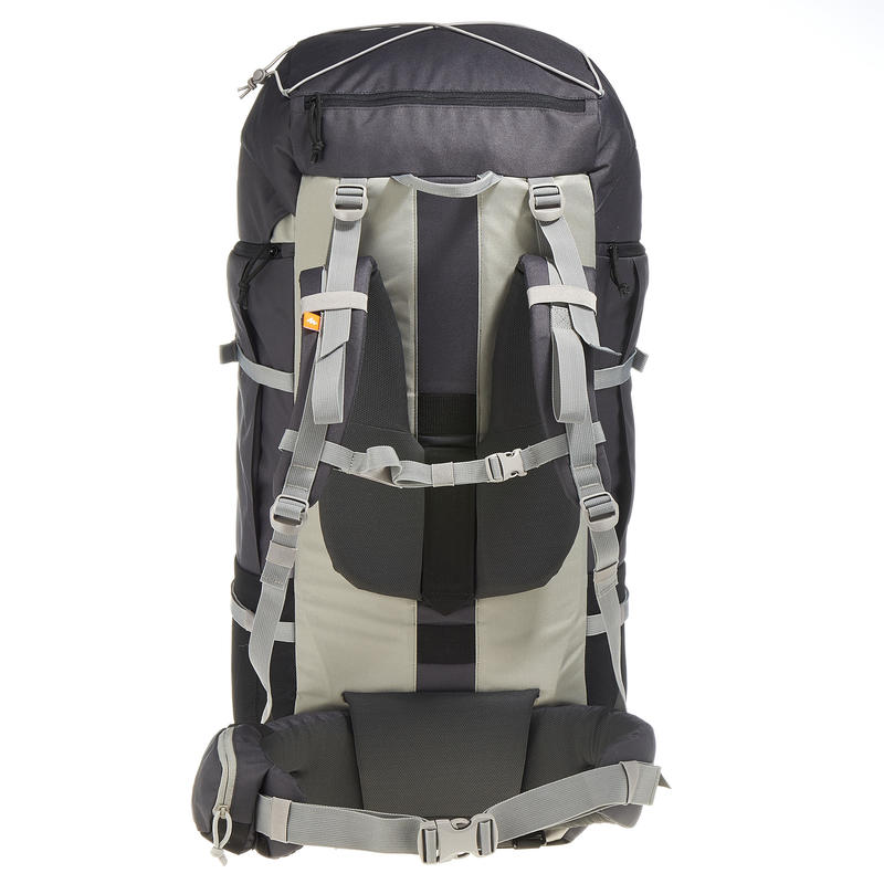 Men's mountain trekking rucksack | FORCLAZ 90L - grey