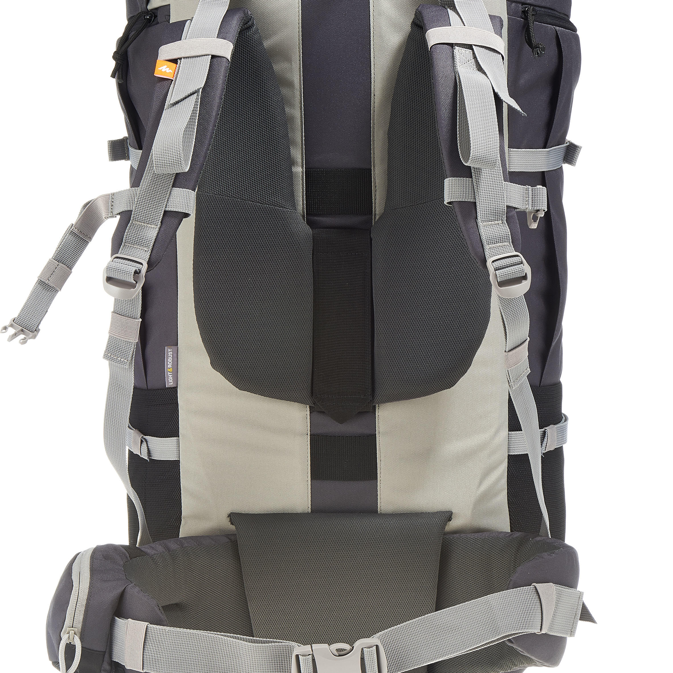 Forclaz 90L Travel Backpack – Dark Grey