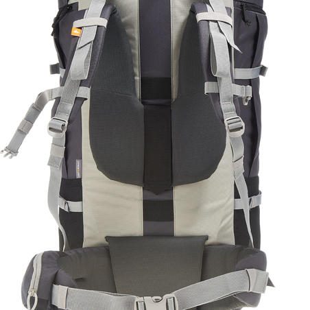 Sac à dos de randonnée en montagne FORCLAZ 90L gris - Femme