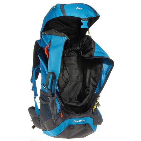 Sac à dos de randonnée en pleine nature Forclaz 60 litres bleu