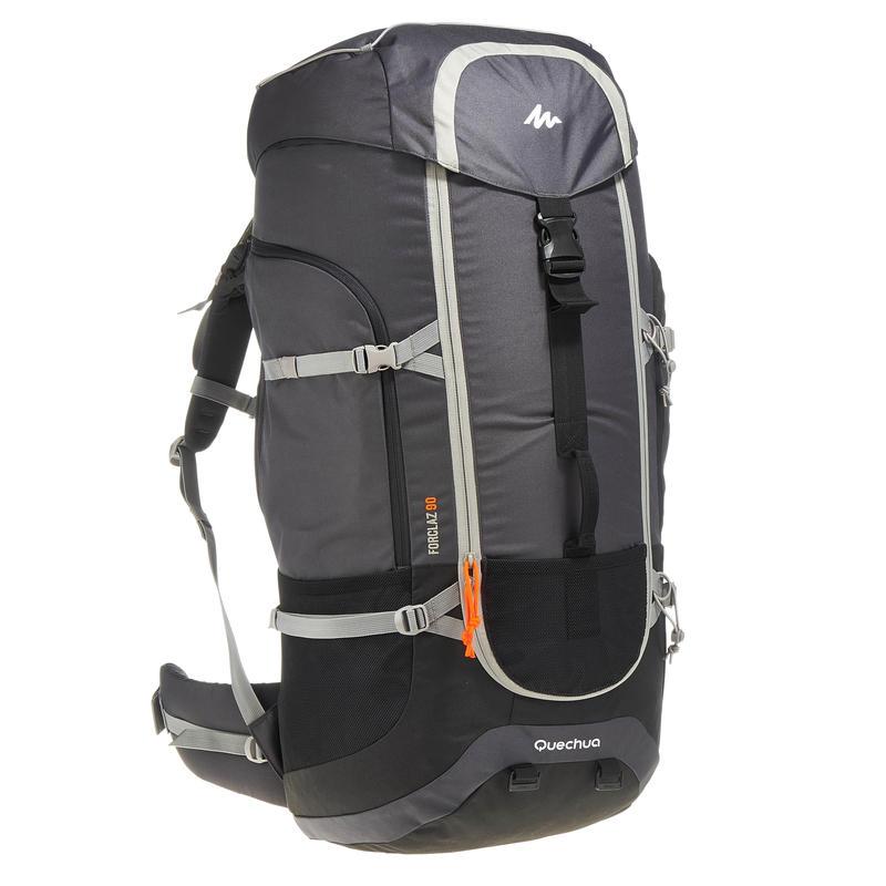 917bbc5b5f Forclaz 90L Travel Backpack – Dark Grey