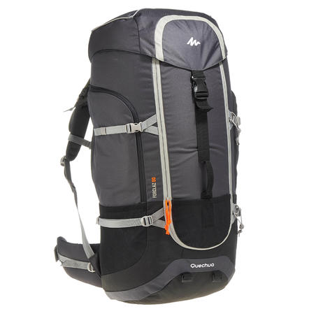 Men's mountain trekking rucksack | FORCLAZ 90L - grey