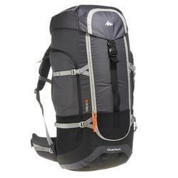 Mochila Trekking Forclaz 90 litros Gris oscuro