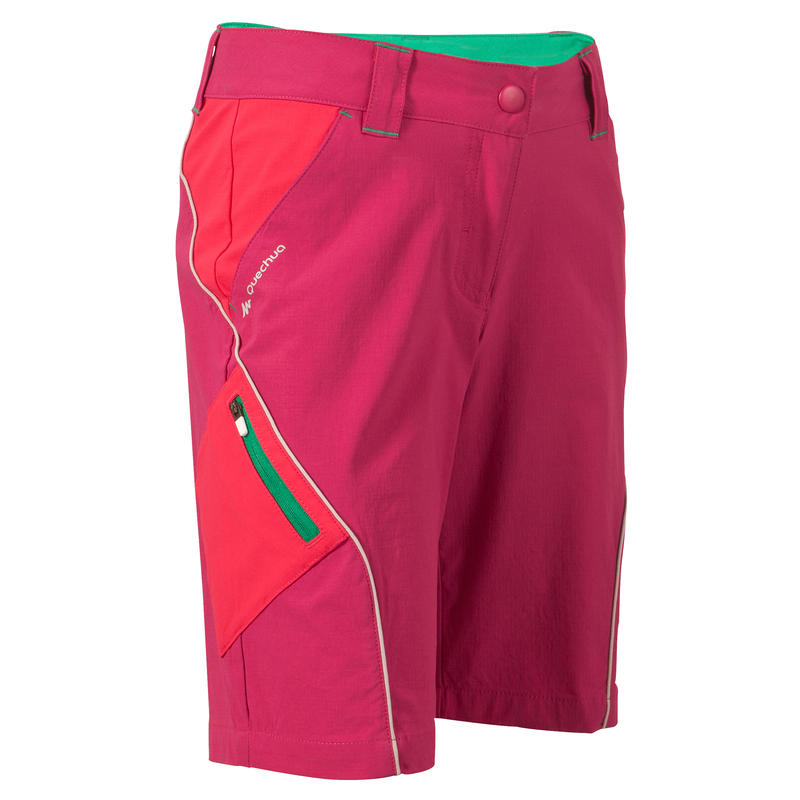 Girls Forclaz 900 Bermuda Shorts