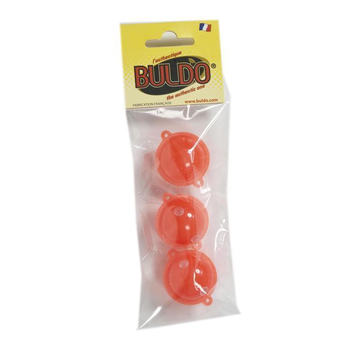 BULLES A EAU DE PECHE <15G BULDO SPHERIQUE ROUGE N°2  X3 - 598766