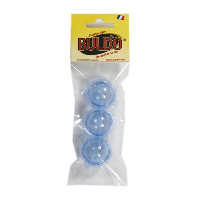 BULLES A EAU DE PECHE <15G BULDO SPHERIQUE TRANS N°2 X3