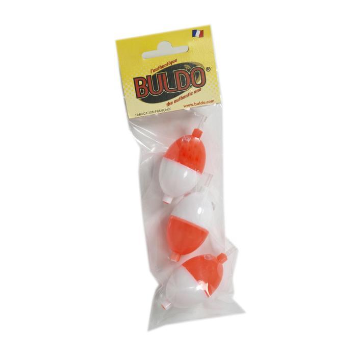 Wasserkugel Buldo Oval Gr. 2 weiß/rot