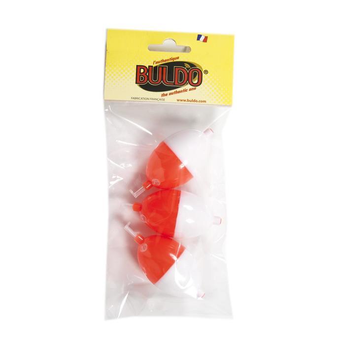 Wasserkugel Buldo Oval Nr. 3 weiß/rot